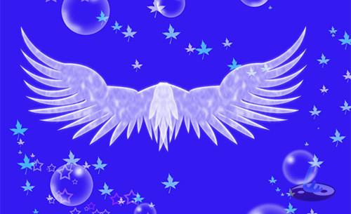 翅膀婴儿简笔画